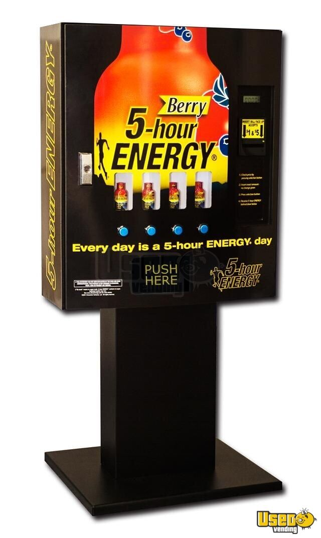 Seaga Energy Drink Vending Machines For Sale In Georgia