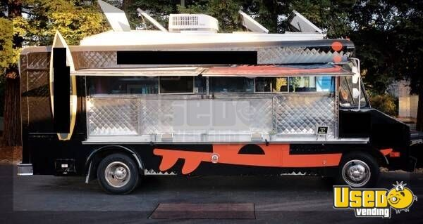 Chevy Food Truck For Sale In California