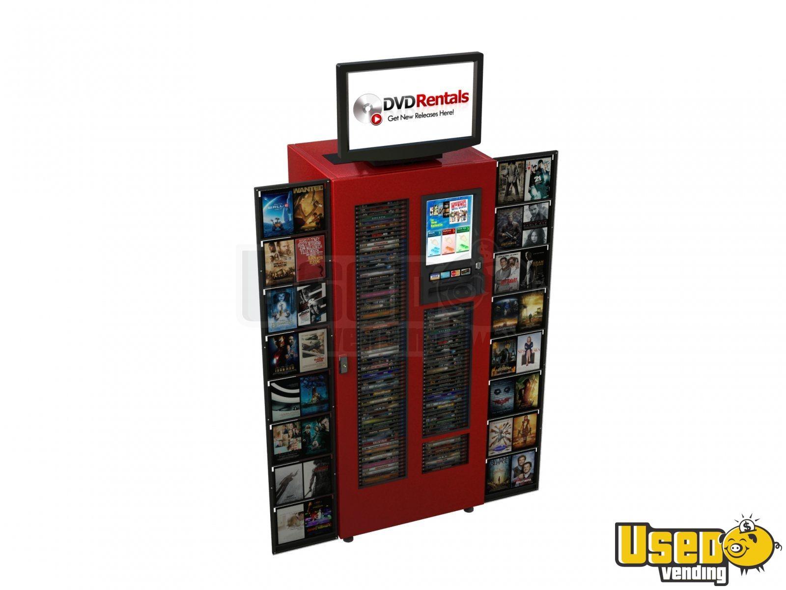 vending machine for rental
