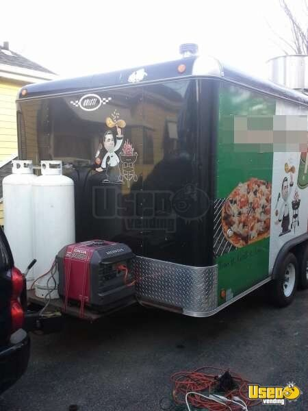 For Sale Used 2011 Kristi Concession Trailer In New York