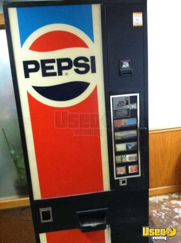 used pepsi vending machine