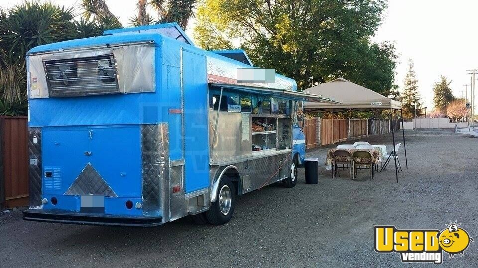 for sale used chevy food truck in california mobile kitchen. Black Bedroom Furniture Sets. Home Design Ideas