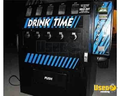 (1) - Dundas Drink Time Mechanical Soda Vending Machine!
