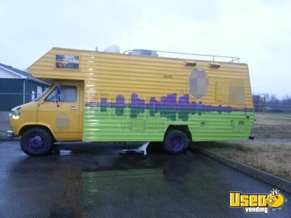 used chevy food truck in tennessee for sale mobile kitchen. Black Bedroom Furniture Sets. Home Design Ideas