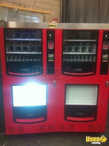 (3) - 2007 Gaines VM-750 Electrical Snack & Soda Combo Vending Machines!!!