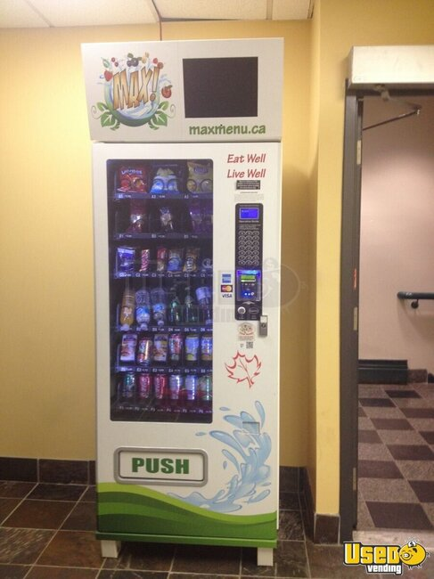 Used 2012 Max Healthy Vending Machines Healthy Snack And