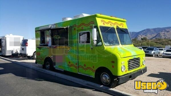 chevy food truck mobile kitchen for sale in arizona. Black Bedroom Furniture Sets. Home Design Ideas