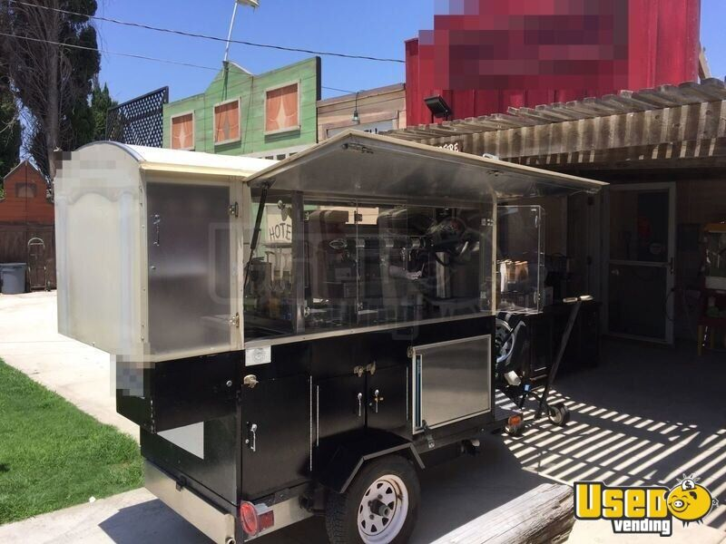 Used Mobile Office Trailers For Sale >> 4.9' x 7.3' Coffee Concession Trailer for Sale in California