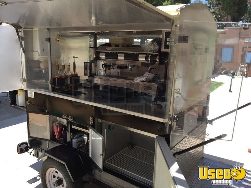 4 9 X 7 3 Coffee Concession Trailer For Sale In California