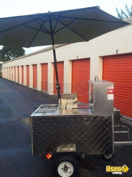 For Sale Used Hot Dog Cart In Florida Food Cart
