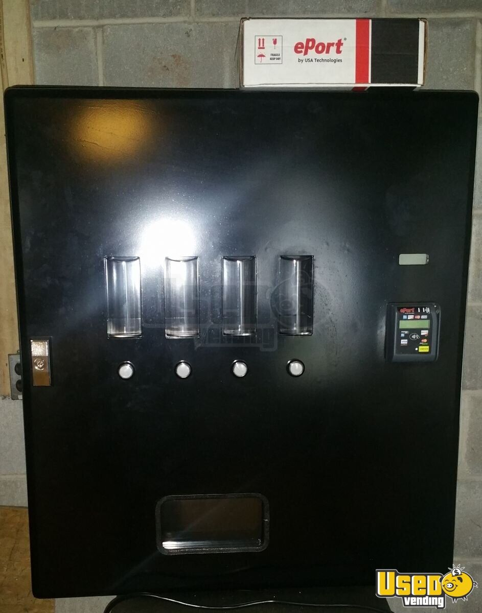 Wall Mount Cashless System Soda Machines Vending