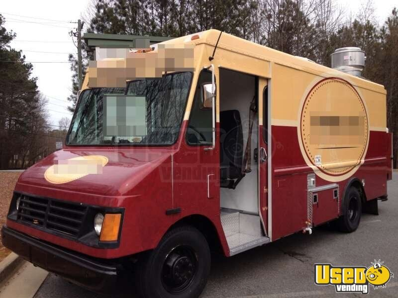 for sale used chevy p30 food truck in georgia mobile kitchen. Black Bedroom Furniture Sets. Home Design Ideas