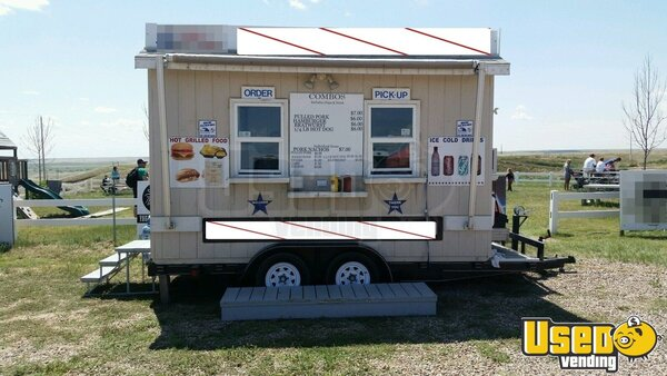 Used 14' Concession Trailer for Sale in Wyoming | Mobile ...
