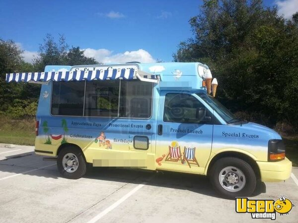 Chevy Soft Serve Ice Cream Truck For Sale In Florida Buy