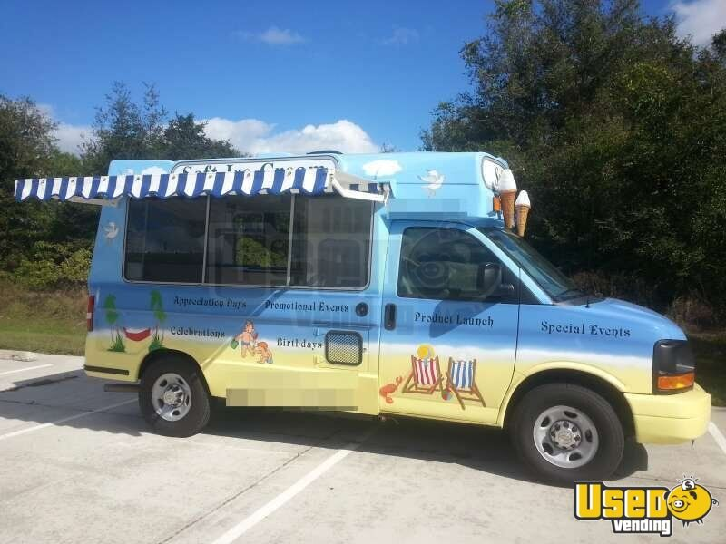 Chevy Soft Serve Ice Cream Truck for Sale in Florida | Buy ...