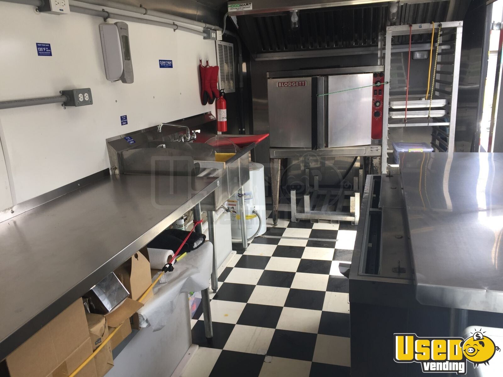 16 X 8 Mobile Bakery Kitchen Trailer For Sale In Idaho