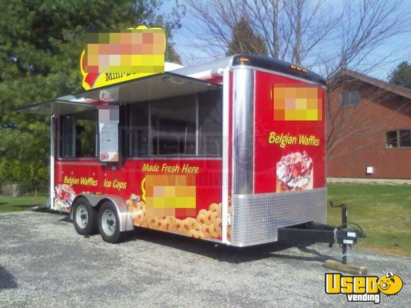 Used Trucks For Sale In Ct >> Mini Donut Concession Trailer for Sale in Connecticut | Lil Orbits Business