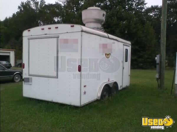 Used 16 39 Us Cargo Concession Trailer In Virginia For Sale Mobile Kitchen
