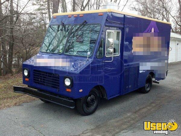 gmc p35000 food truck mobile kitchen for sale in north carolina. Black Bedroom Furniture Sets. Home Design Ideas