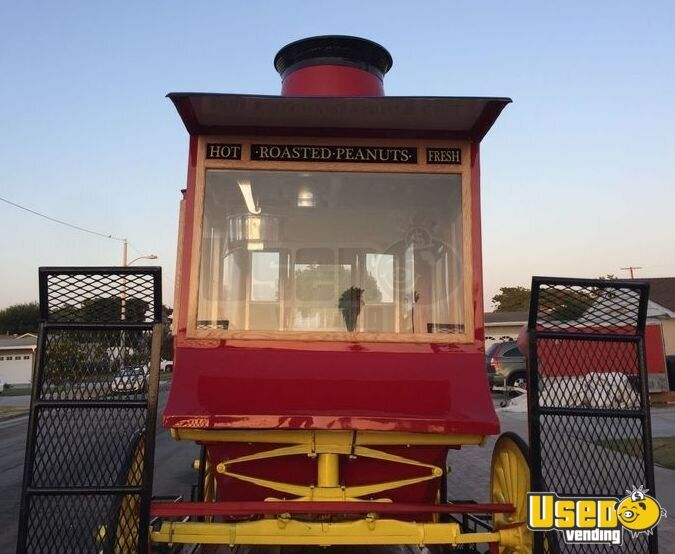 Antique Style Popcorn Wagon Cretors Style Wagon For Sale