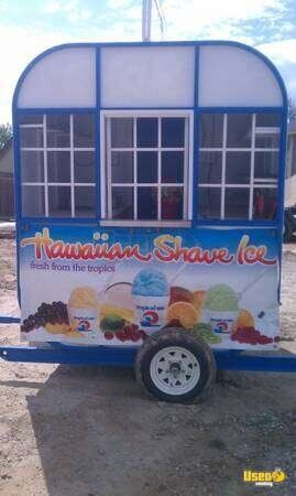 Sno Shack Shaved Ice Trailer!!!