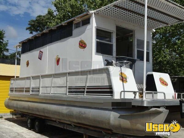 Mobile Kitchen Boat For Sale In Florida Concession Boat For Sale