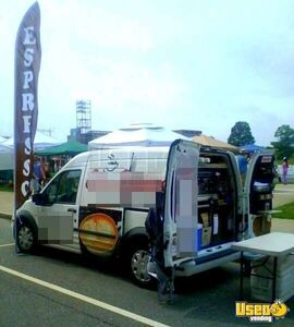 2012- Ford Transit Connect Espresso/Coffee Truck!!!