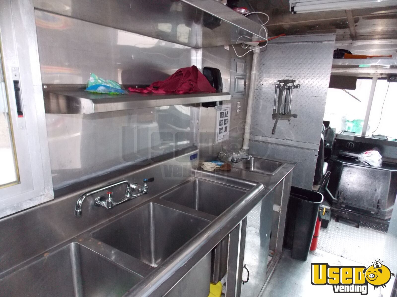 Chevy Food Truck for Sale in Texas - 9
