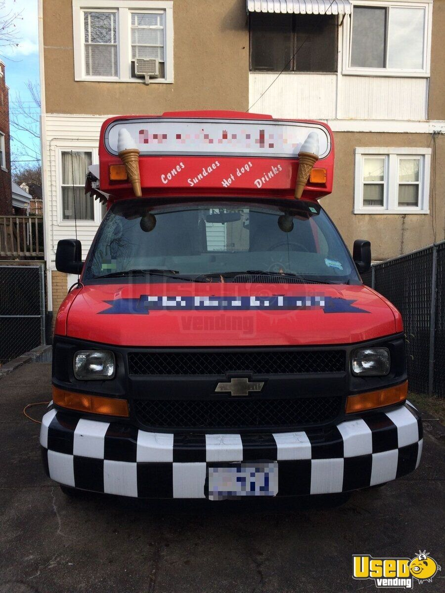 2012 Chevy Ice Cream Truck for Sale in District of Columbia - 3