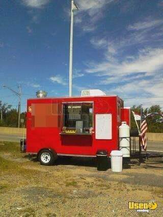 2011 - 12 x 7 Food Concession Trailer!!!