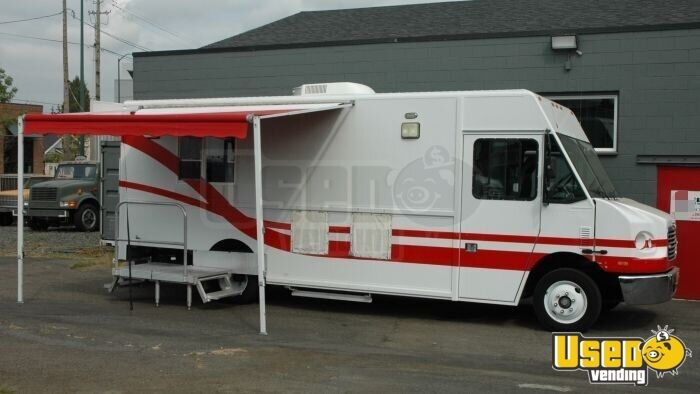 Details about 2004 Freightliner MT45 Mobile Kitchen Food Truck for Sale in  Hawaii!!!