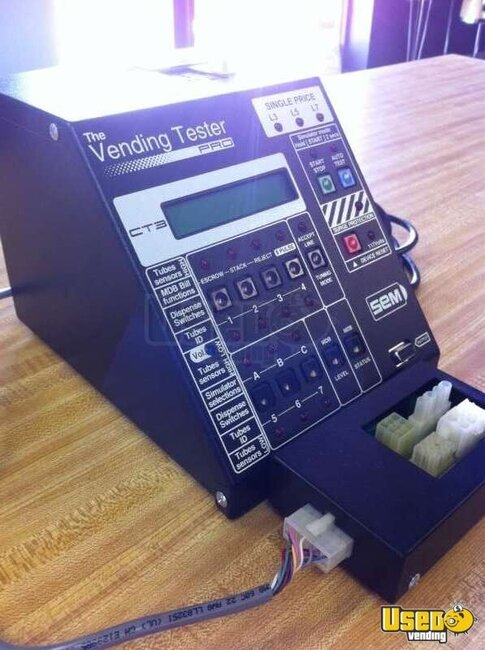 Used Ice Machine >> CT3 Coin Mech & Bill Validator Tester | S.E.M. Vending Tester