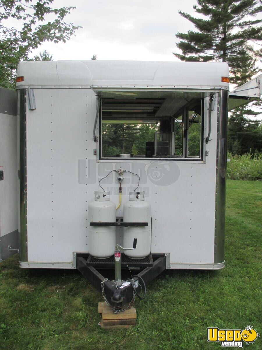 8 X 16 Food Concession Trailer Kitchen Trailer For