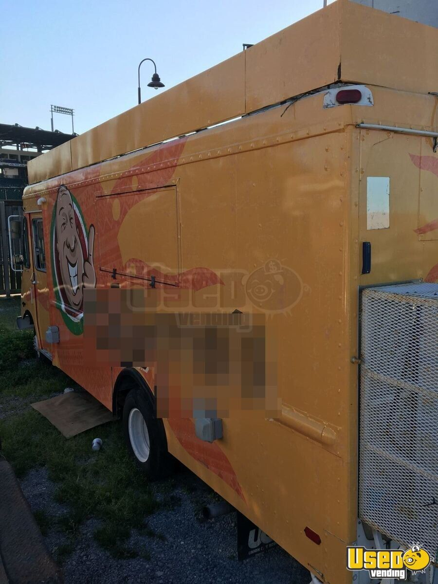 chevy food truck mobile kitchen for sale in louisiana. Black Bedroom Furniture Sets. Home Design Ideas