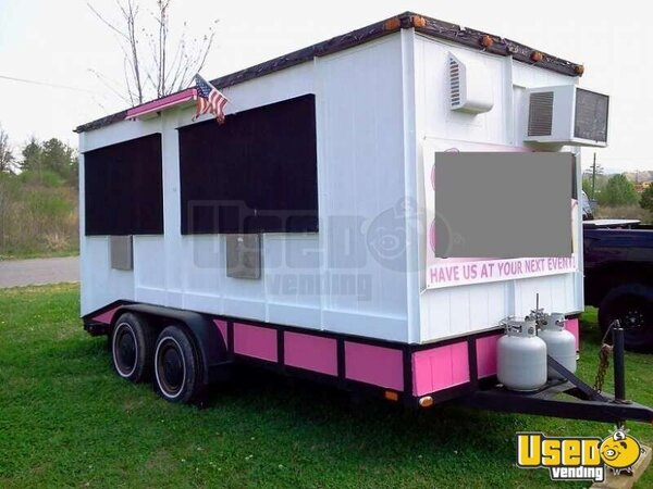 2005 - 18' x 7'  Heavy Duty Concession / Retail Vending Trailer!!!