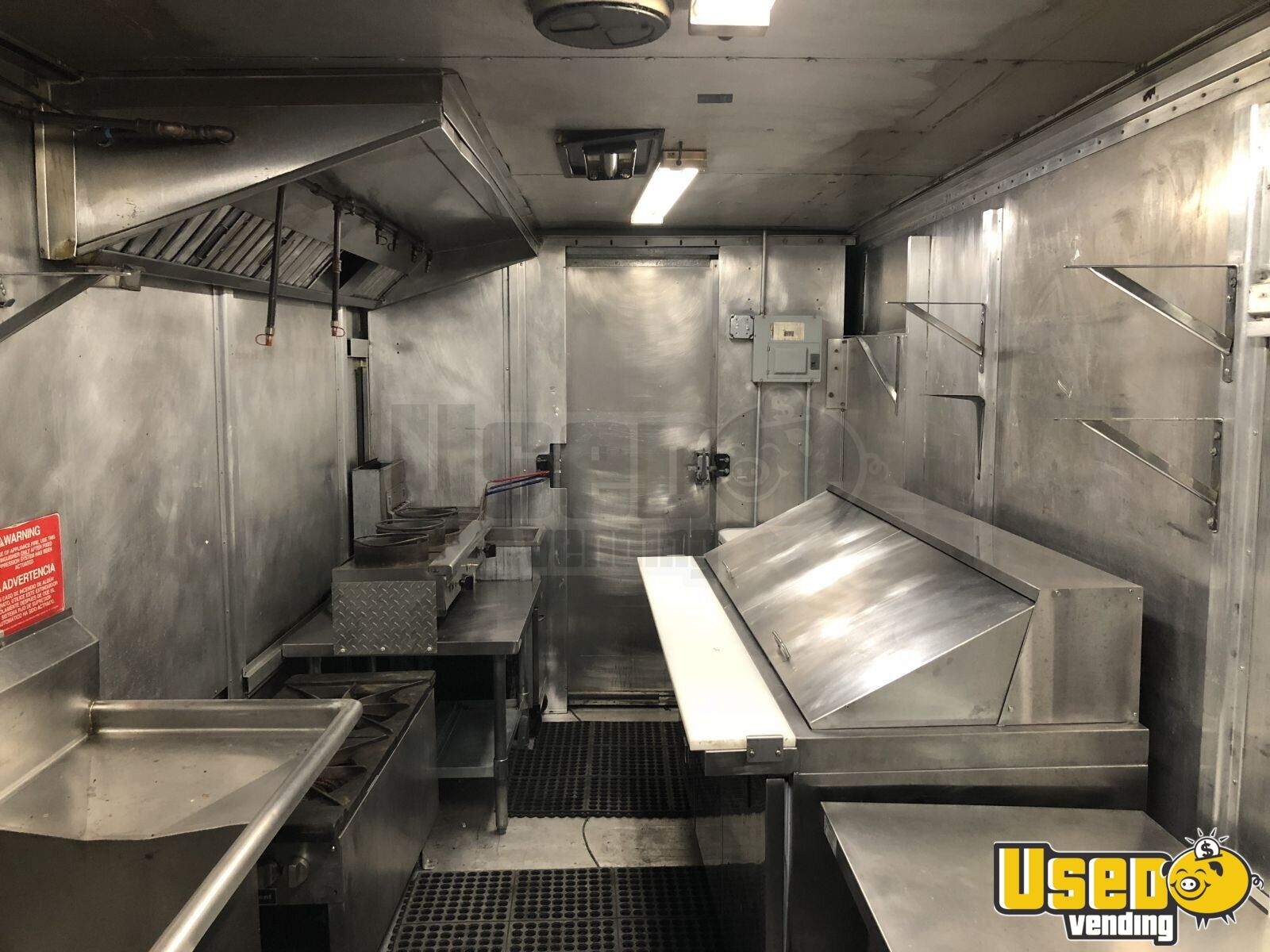 P-42 Workhorse Mobile Kitchen Food Truck for Sale in Michigan - 7