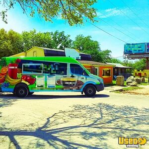 2014 Mercedes Smoothie / Beverage Truck for Sale in Texas - Small 3