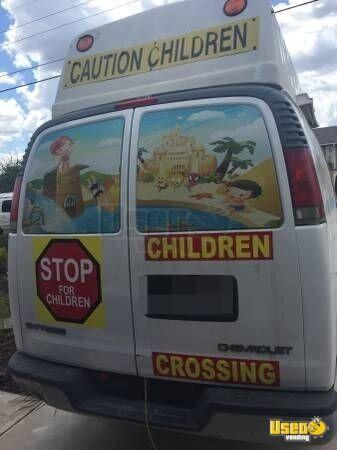 Chevy Ice Cream Truck Ice Cream Van For Sale In Texas
