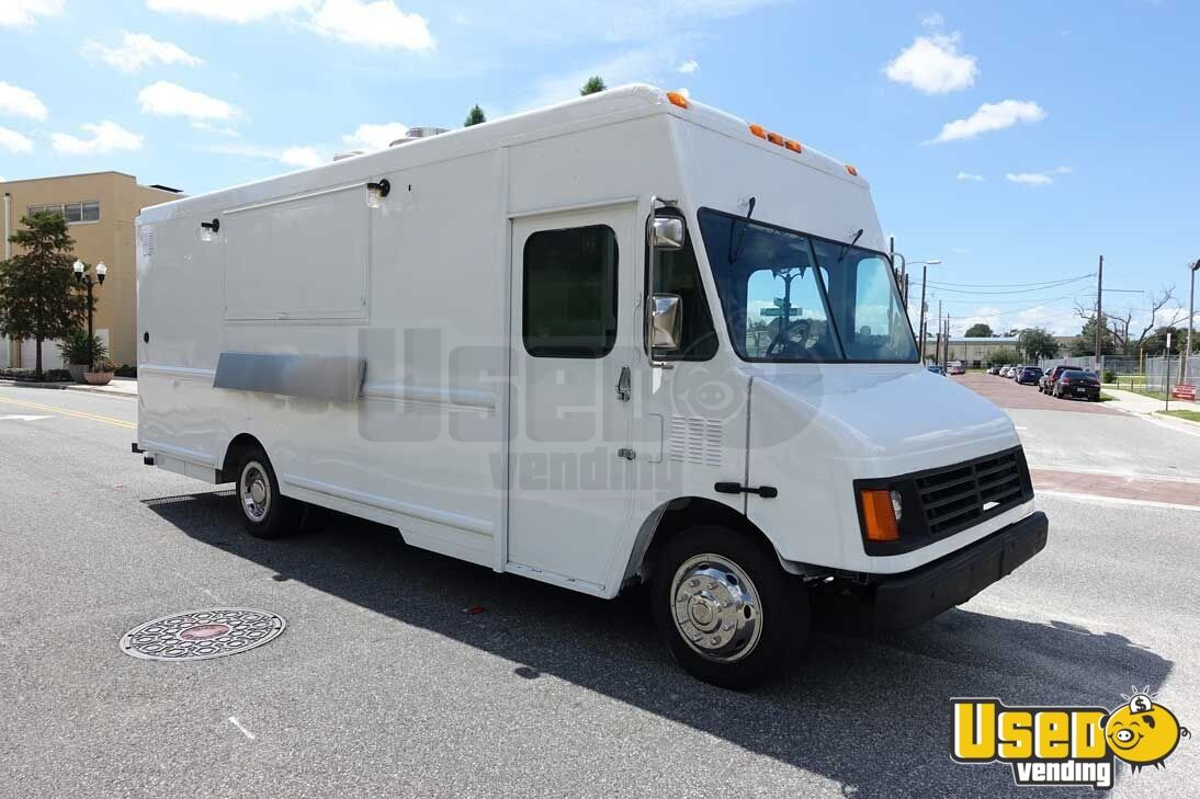 Salvage Food Trucks For Sale