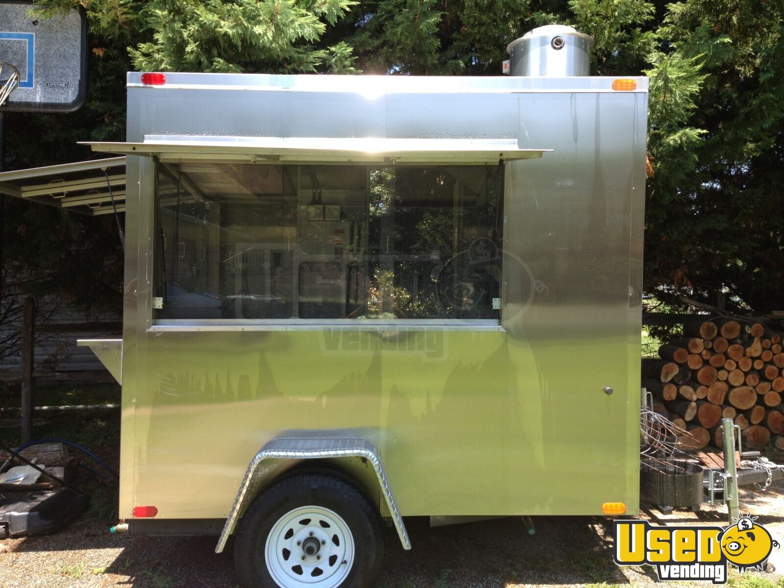 Columbia 6 X 8 Hot Dog Trailer Concession Trailer For