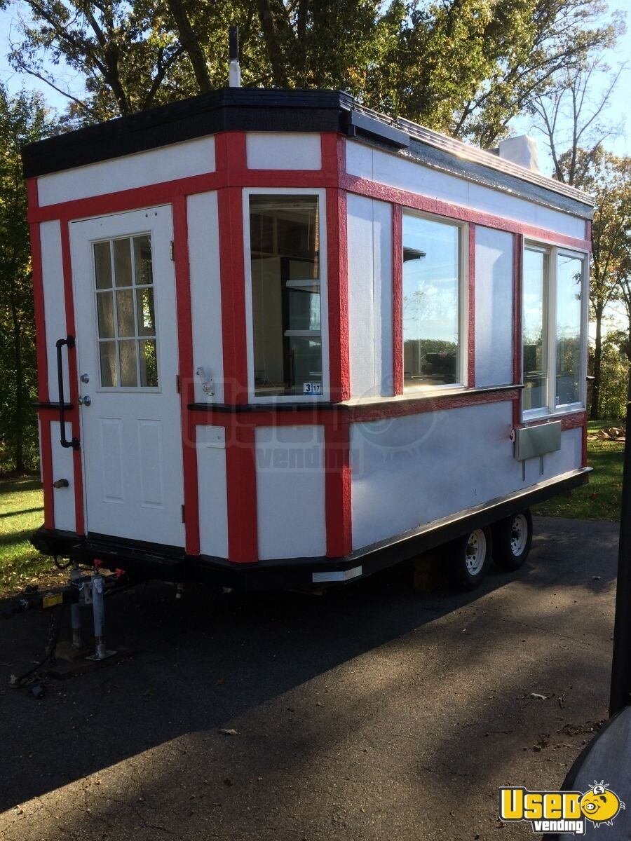 8 5 X 16 Ice Cream Concession Trailer For Sale In Virginia