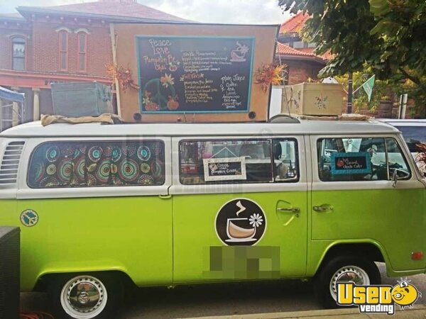 1975 VW Bus Coffee Truck Turnkey Mobile Cafe Business
