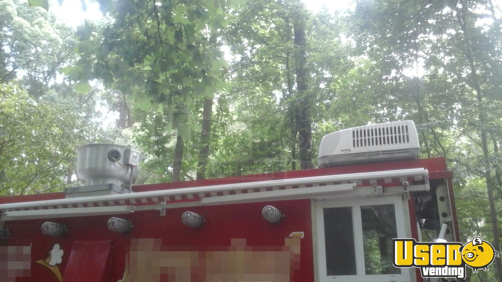Vintage Fire Engine Food Truck for Sale in North Carolina - 12