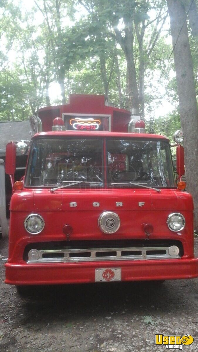 Vintage Fire Engine Food Truck for Sale in North Carolina - 2