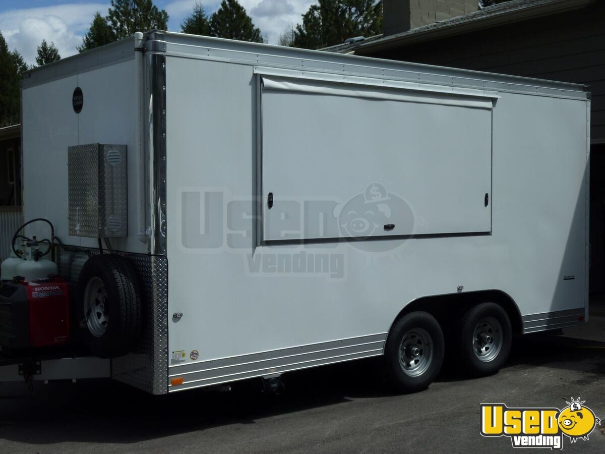 8 X 18 Food Concession Trailer Kitchen Trailer For