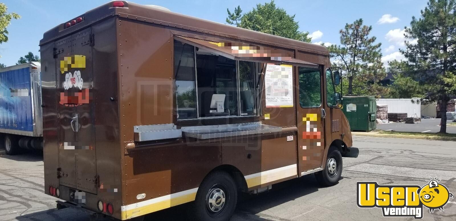 Details About Food Truck Used Mobile Kitchen For Sale In Virginia