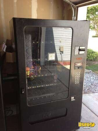 (2) Dixie Narco Soda / Snack Vending Machines - 2