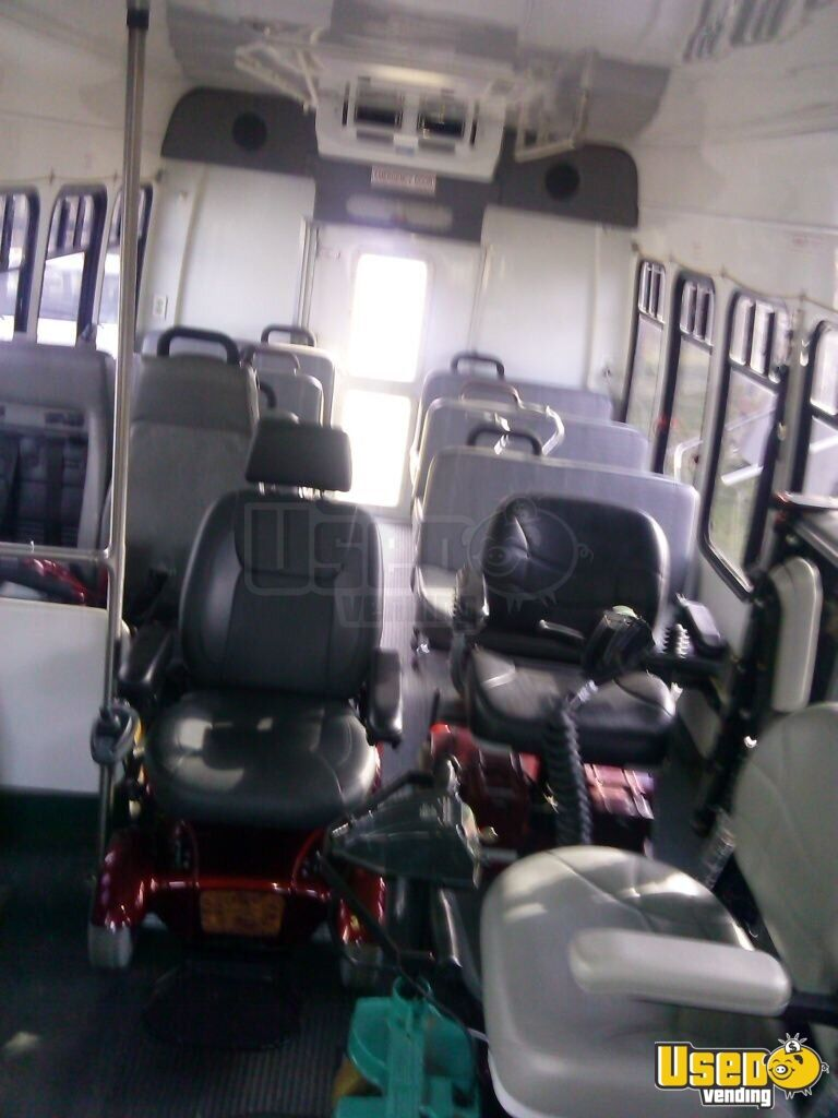 Used Tires Com >> Ford E450 Handicap Bus | Used Shuttle Bus for Sale in Indiana