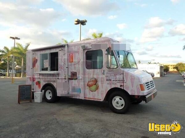 Coffee & Ice Cream Truck For Sale In Florida | Smoothie Truck