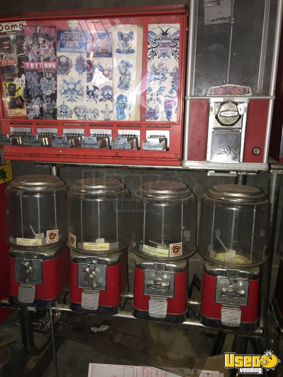Limos For Sale >> California Lot of Bulk Vending Machines   Used Bulk Sticker Tattoo Machines for Sale